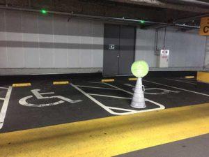 『木の葉モール橋本』駐車場さくら