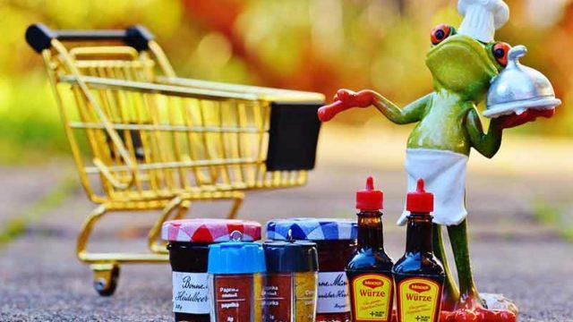 カエルの買い物