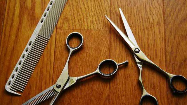 美容師の道具