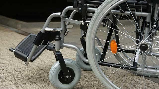 車椅子の足置き