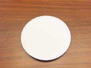 白いお皿小
