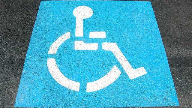 車椅子駐車場